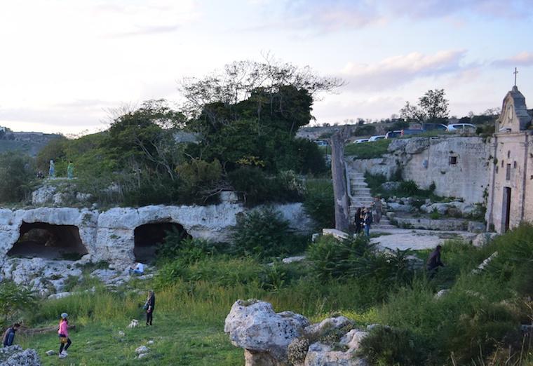 matera italia sassi igreja gruta