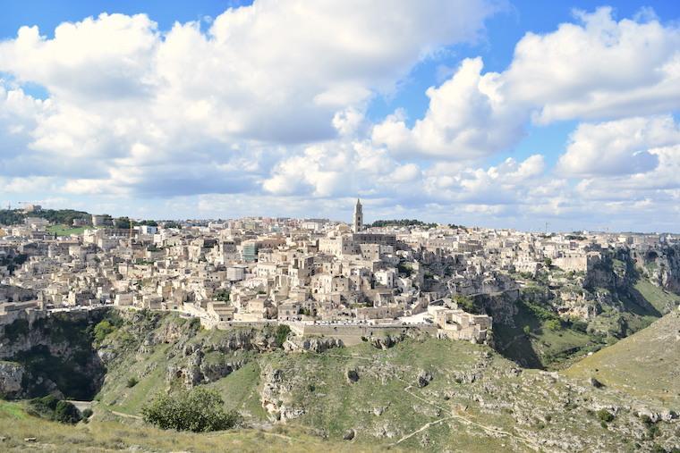 matera italia sassi vista belvedere