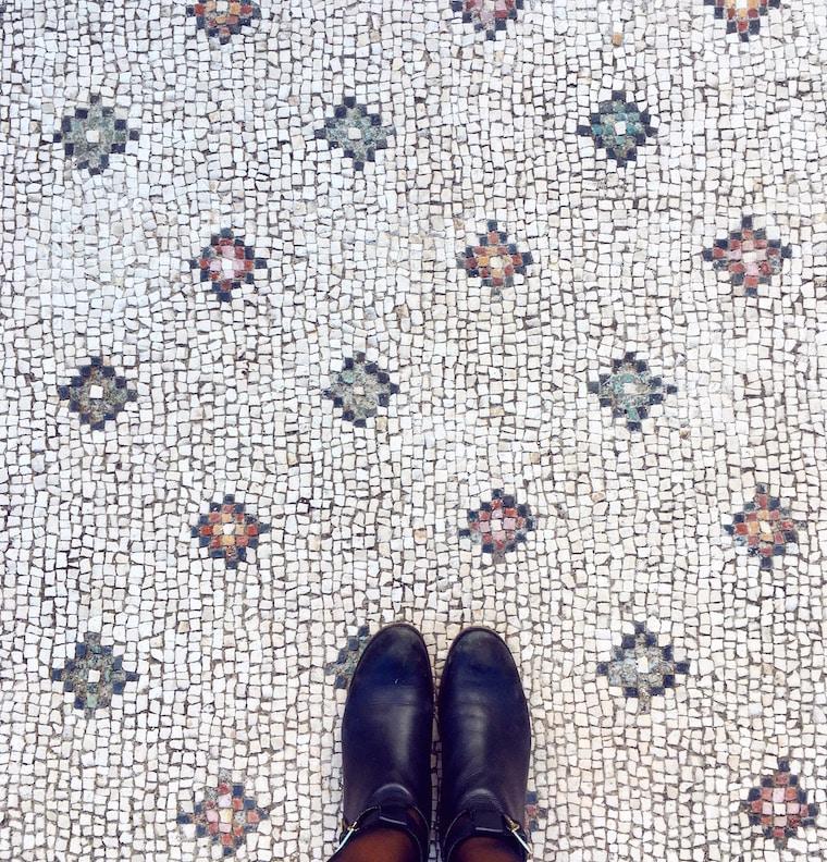 mochilão pela europa mosaicos