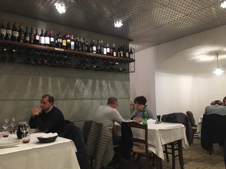 onde comer em matera italia