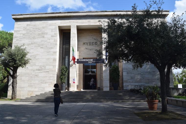 paestum italia museu arqueologico