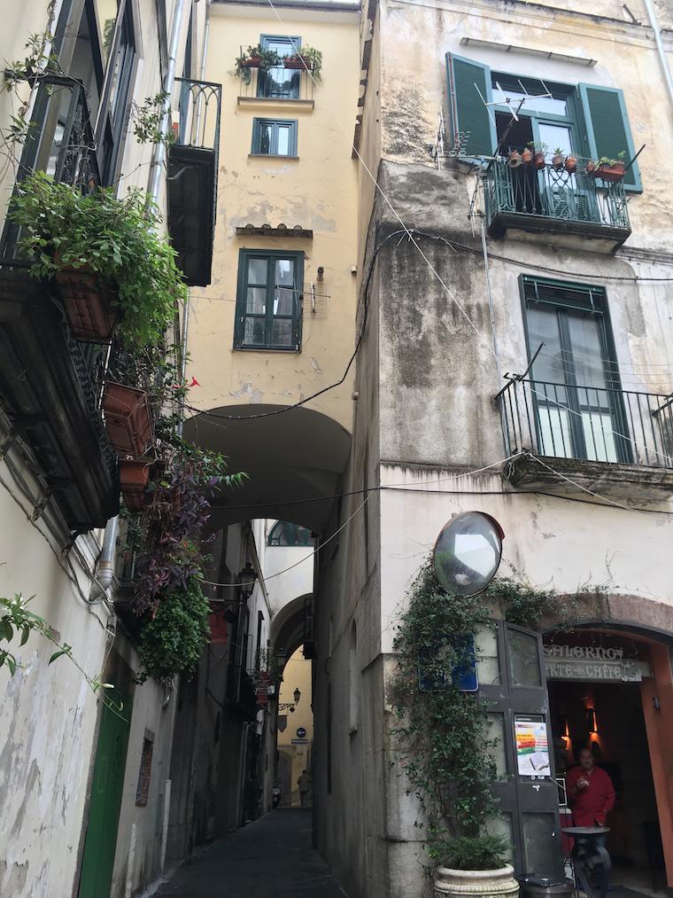 Salerno Itália Centro Histórico