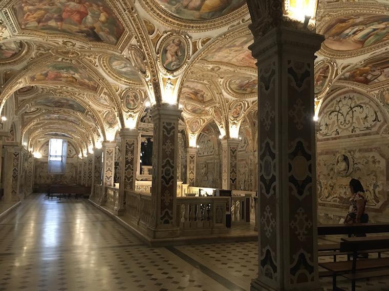 Salerno Itália cripta são mateus