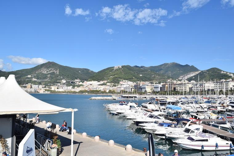 Salerno Itália porto