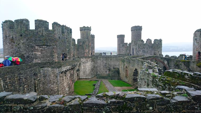 Castelo de Conwy, no País de Gales