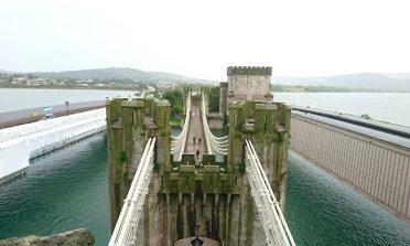 O Castelo de Conwy e a cidade murada, no País de Gales