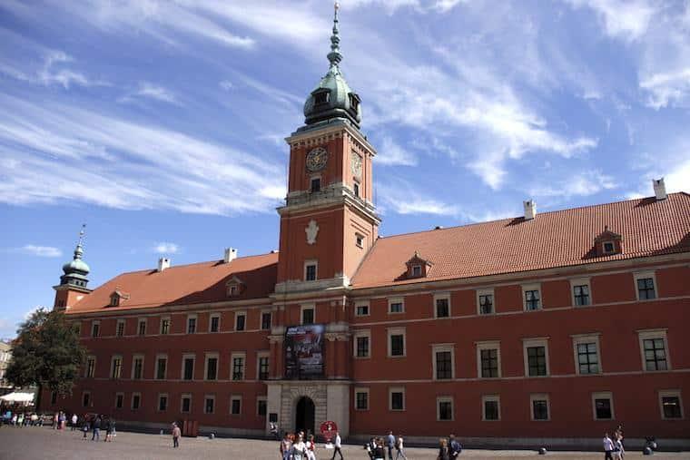 O que fazer em Varsóvia: Castelo Real