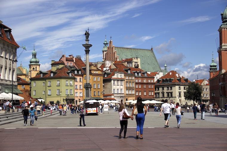O que fazer em Varsóvia: Cidade Velha