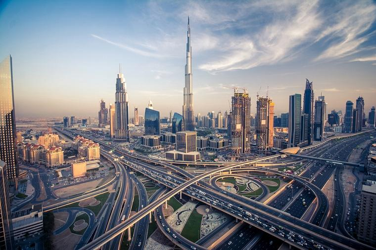Dubai, viagem