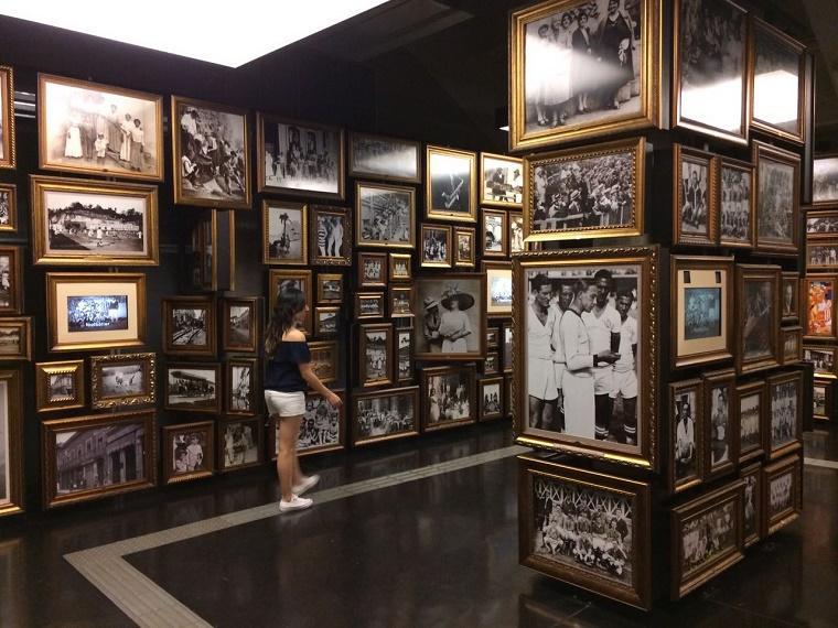 visita museu do futebol