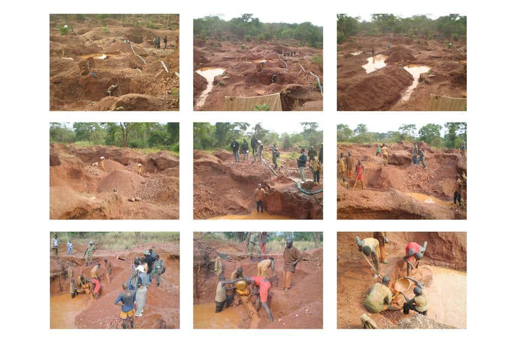 Minas de Cobalto no Congo