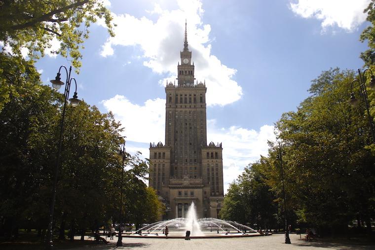 O que fazer em Varsóvia: Palácio da Ciência e da Cultura