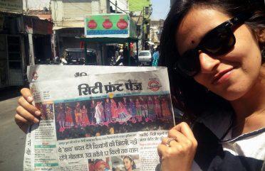 O dia em que eu saí na capa de um jornal indiano