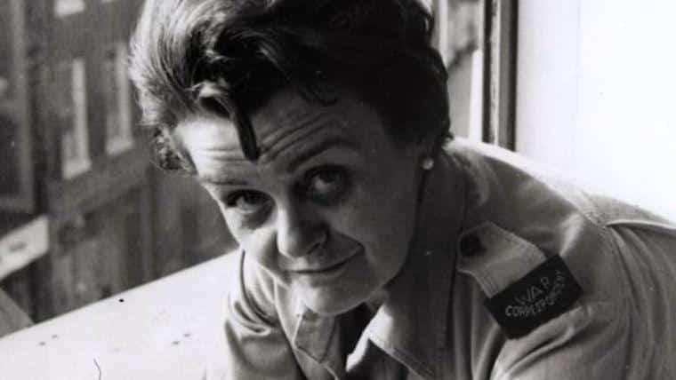 Grande viajantes Clare Hollingworth war correspondent