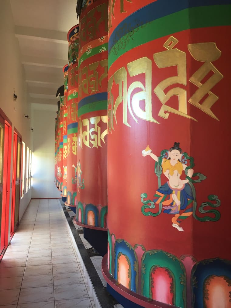 Roda das orações templo budista no brasil khadro ling