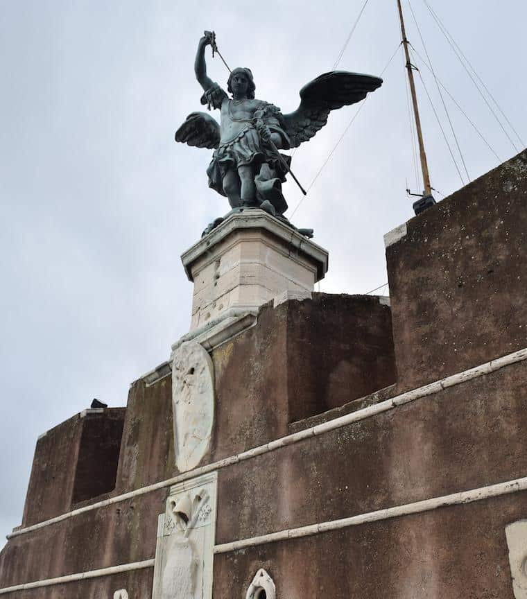 castelo de santo angelo anjo