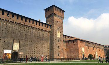 Visita ao Castelo Sforzesco, em Milão