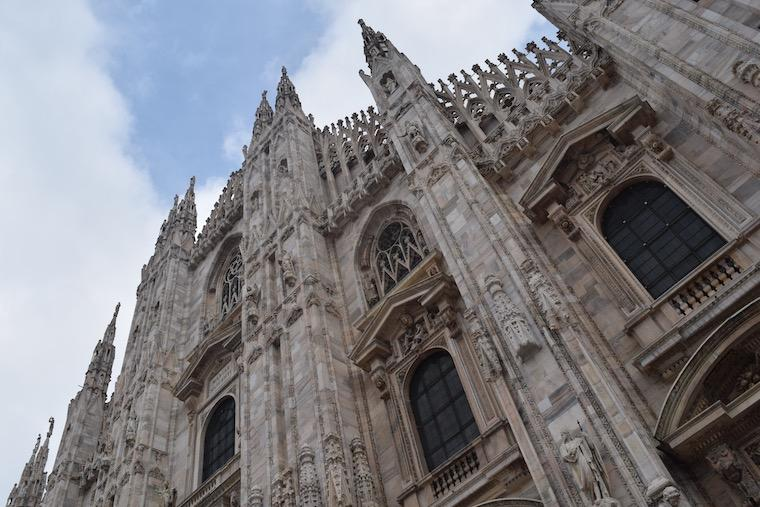 catedral de milao detalhes