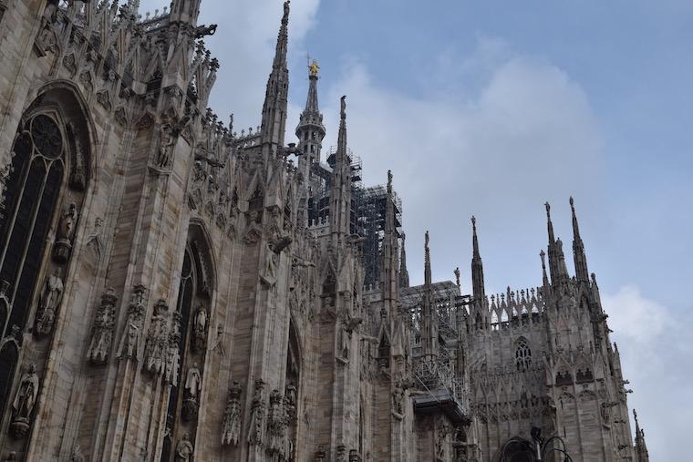 catedral de milao escultura
