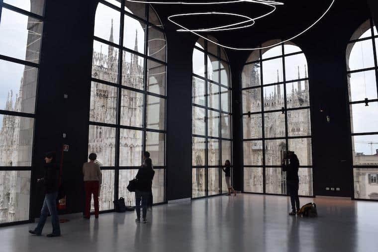 catedral de milao museu novecento