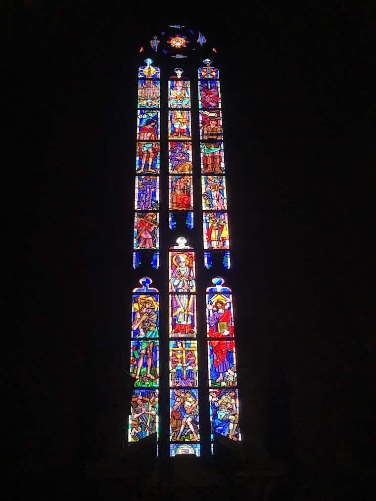 catedral de milao vitrais