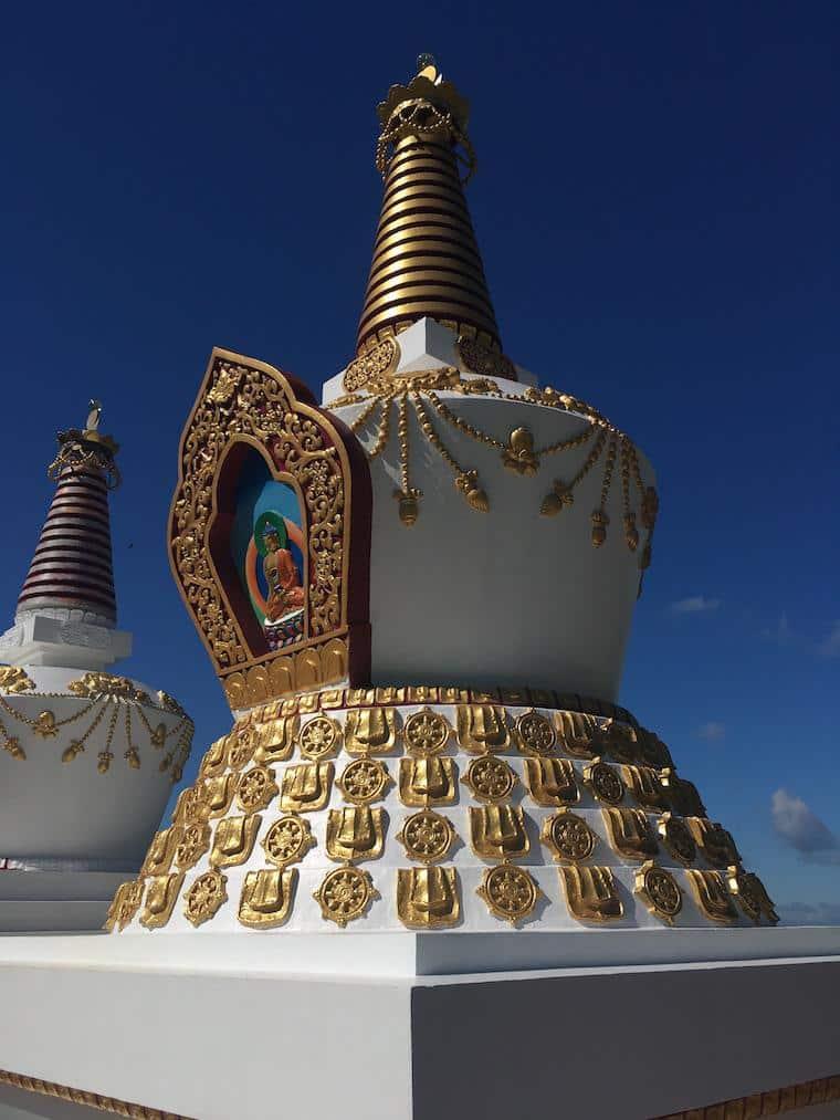 templo budista no brasil khadro ling estupa