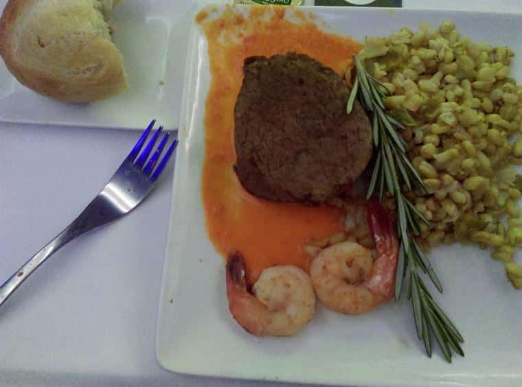 comida american airlines