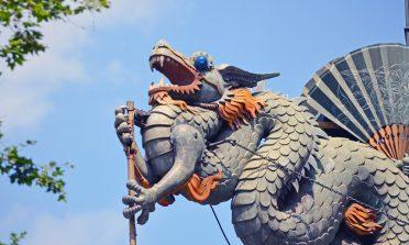 Mil dragões pelas ruas de Barcelona