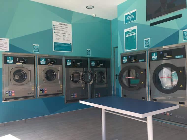 lavanderia na europa