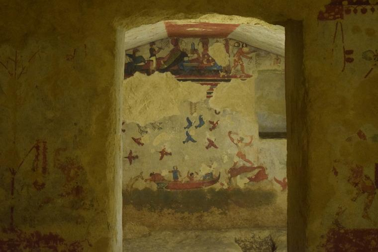 o que fazer em tarquinia italia necropoli etrusca tumba maior