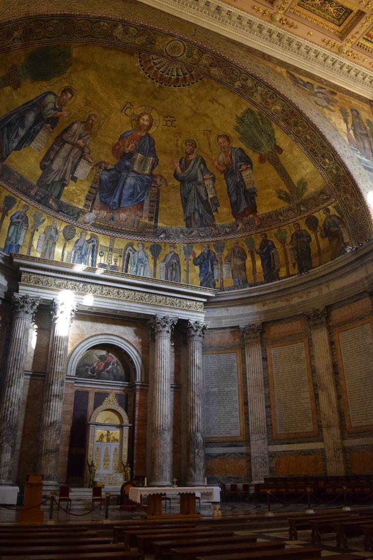 sao paulo fora dos muros roma abside
