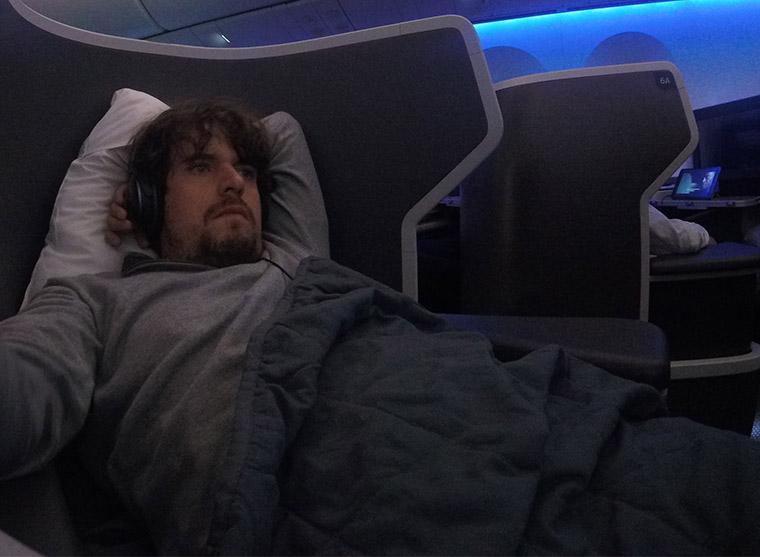 Como é voar na American Airlines