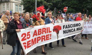 A Revolução dos Cravos e a comemoração de 25 de abril em Portugal