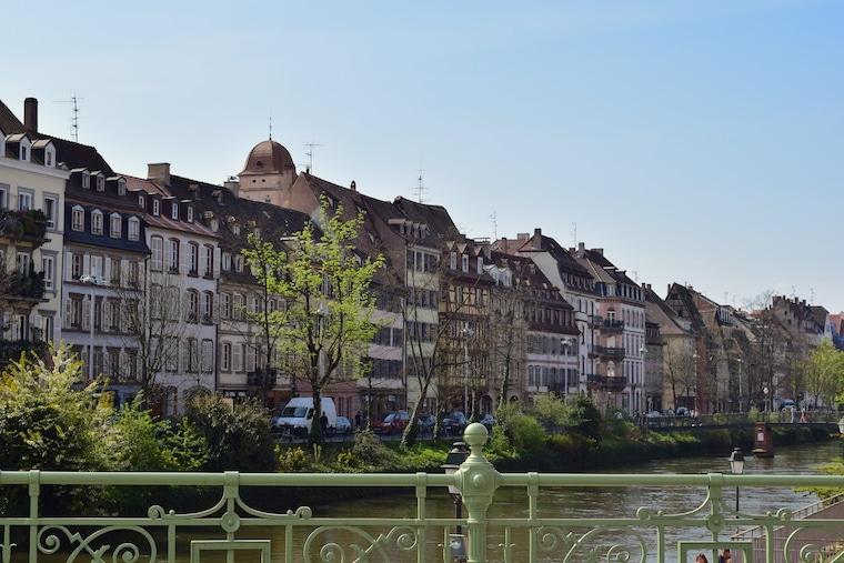 alsácia frança rota do vinho estrasburgo rio