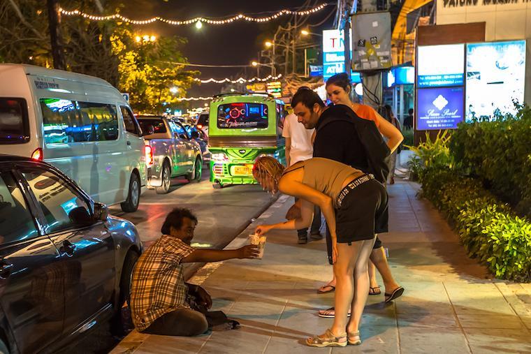 begpackers mendigo tailandia