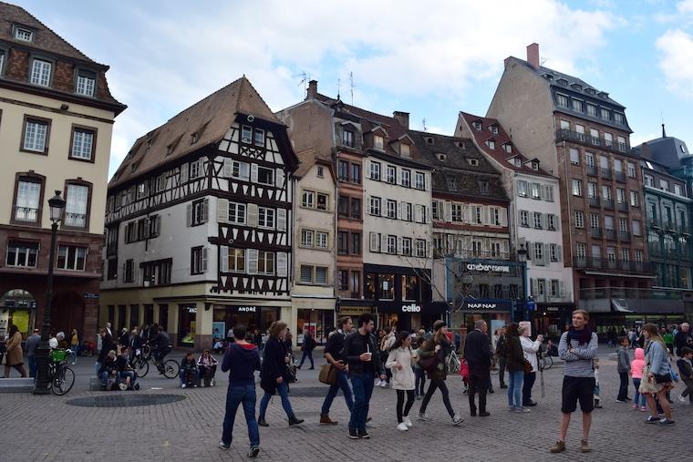 o que fazer em estrasburgo frança construçoes