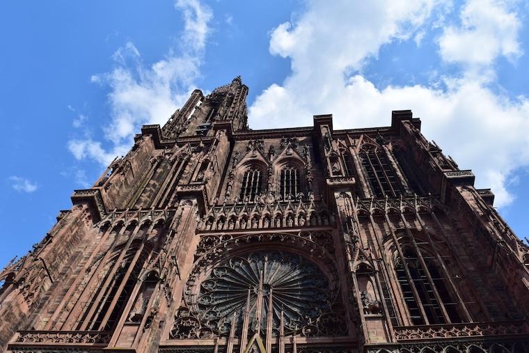 o que fazer em estrasburgo frança detahles catedral