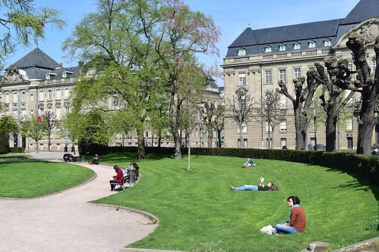 o que fazer em estrasburgo frança praça
