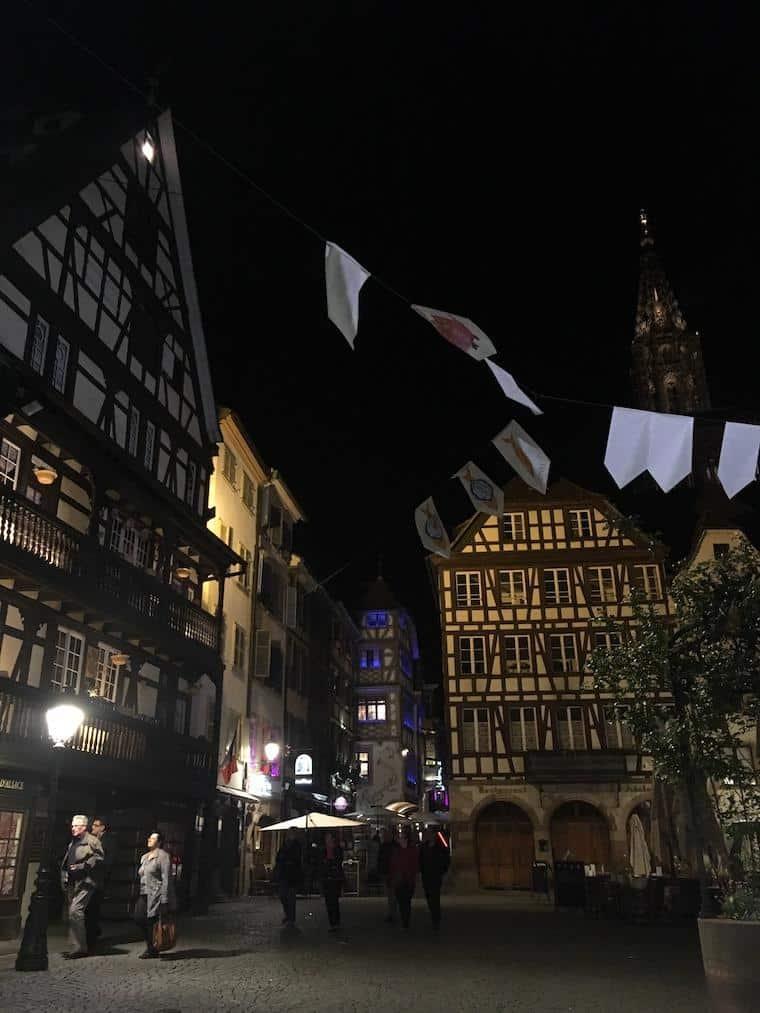 o que fazer em estrasburgo noite