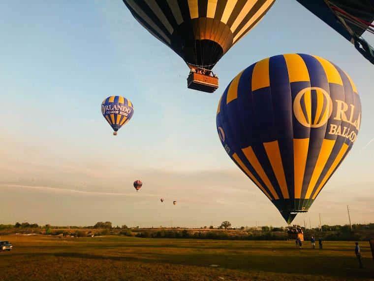 Voo de Balão em Orlando
