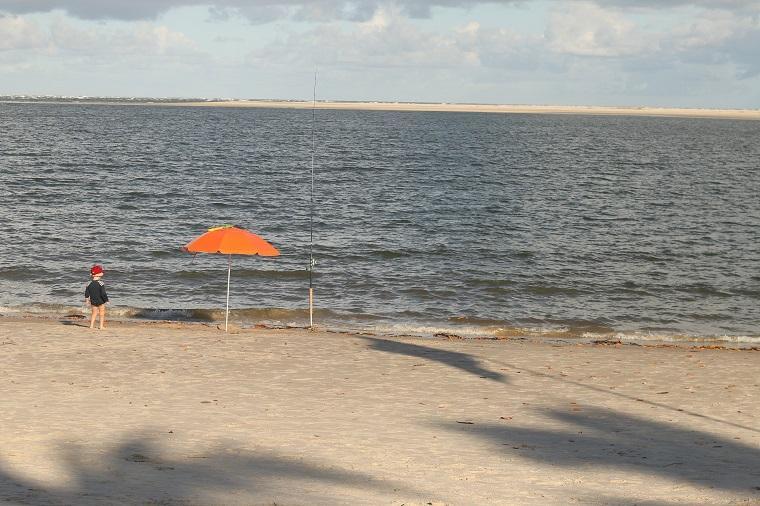 Praia do Saco, perto de Aracaju