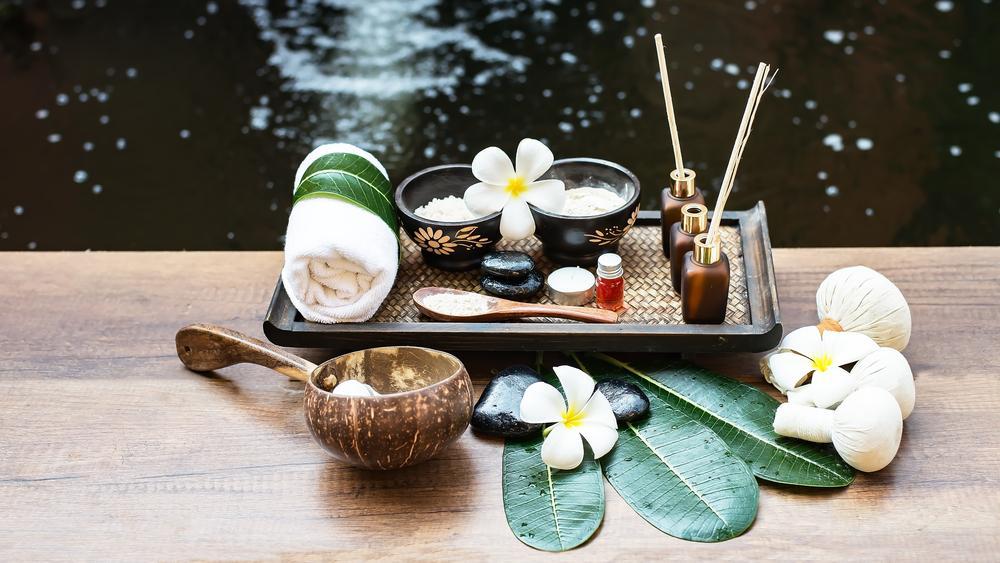 A casa espiritual da massagem tailandesa