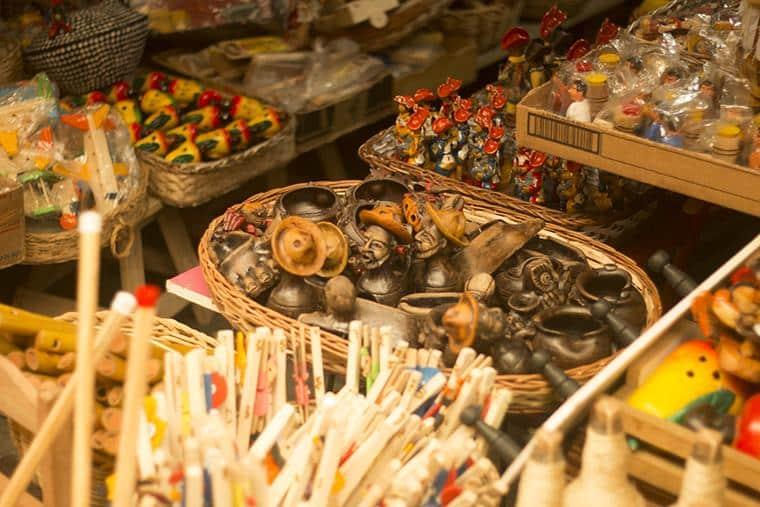 mercado de artesanato em Aracaju