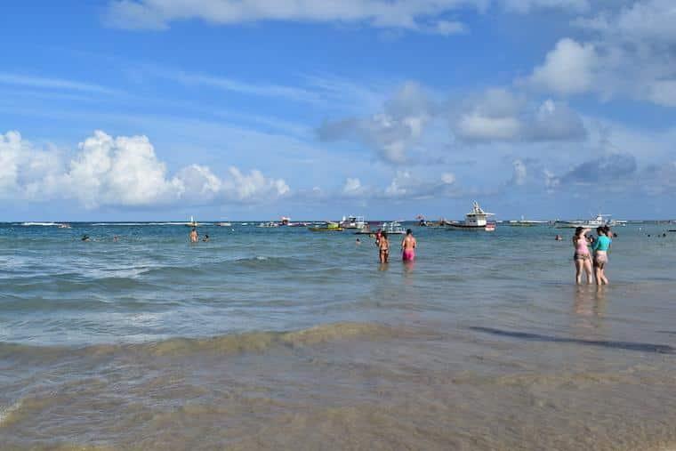 O que fazer em Porto de Galinhas: Praia da Vila