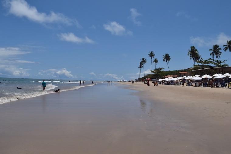 O que fazer em Porto de Galinhas: Pontal de Maracaípe