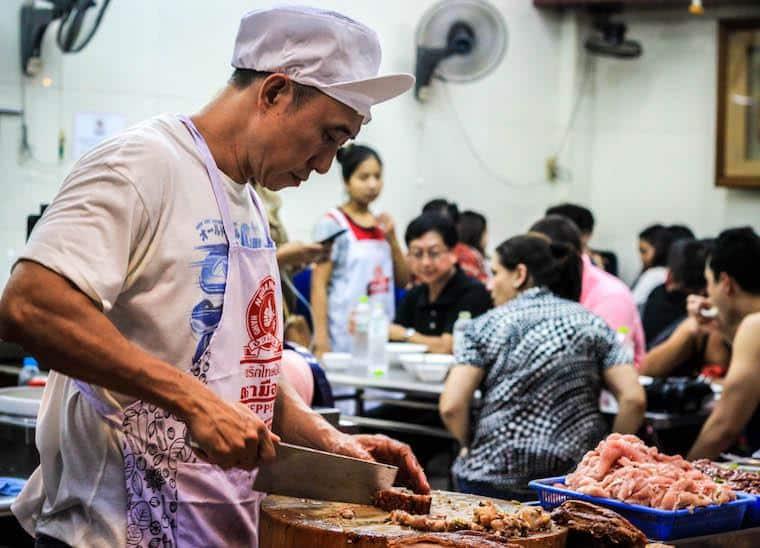 Onde comer street food em Bangkok - Chinatown