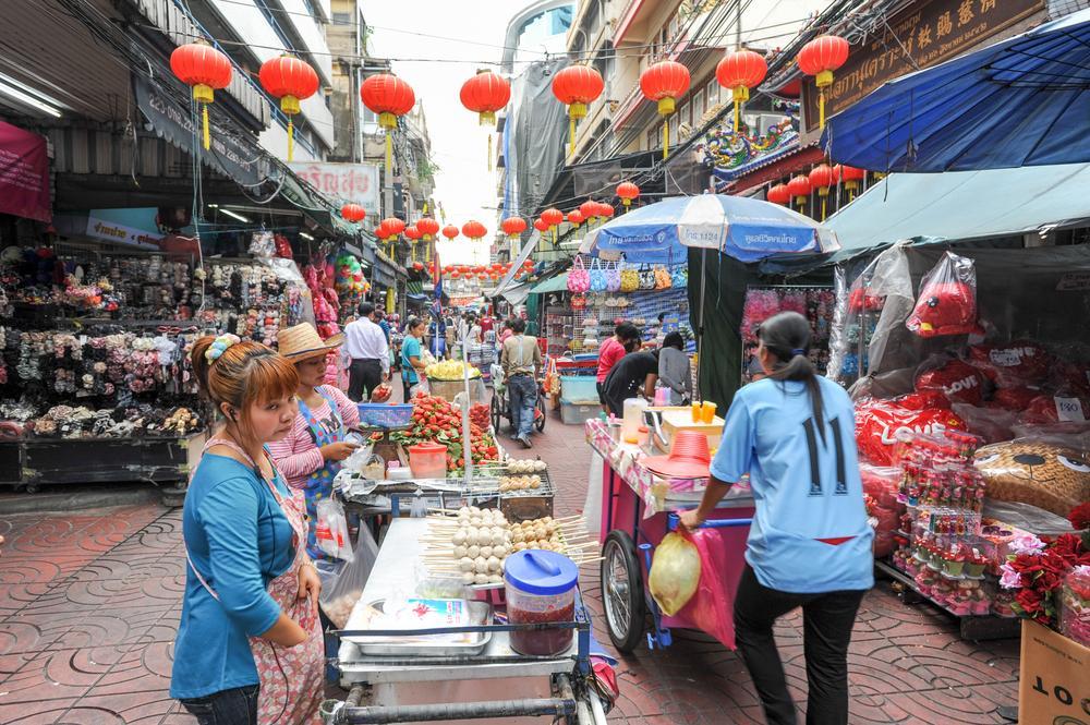 Sampeng Market - Mercado de Bangkok