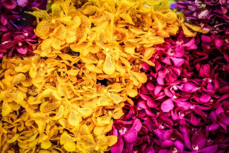 Mercado das Flores de Bangkok