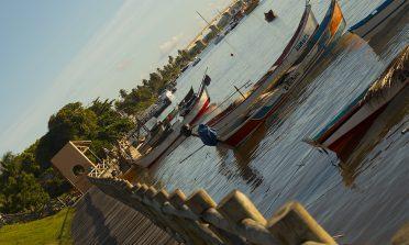 Orla do pôr do sol: ponto turístico de Aracaju