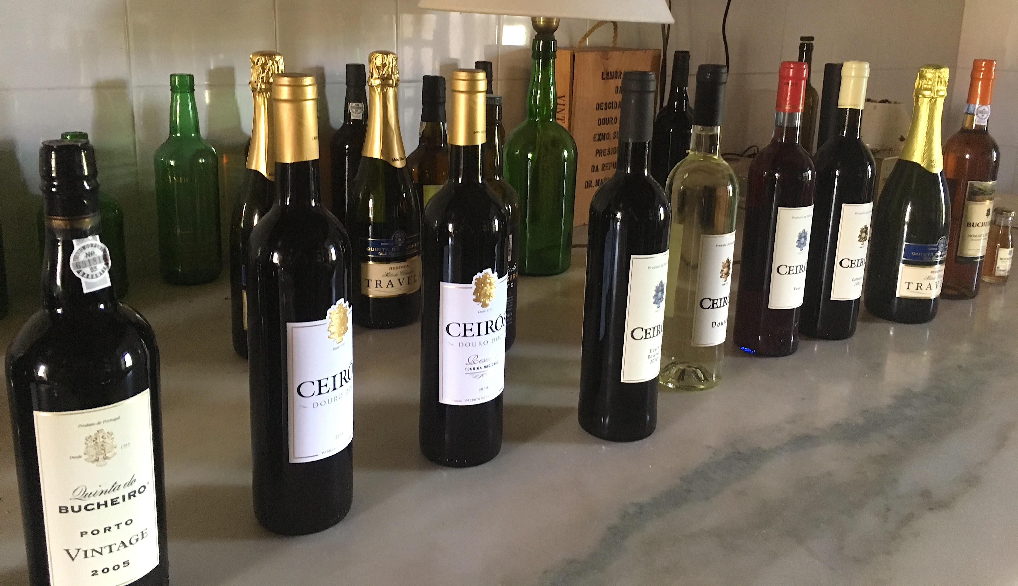 vinhos portugueses garrafas